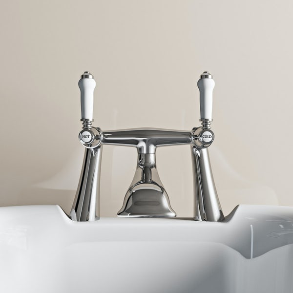 The Bath Co. Winchester bath mixer tap