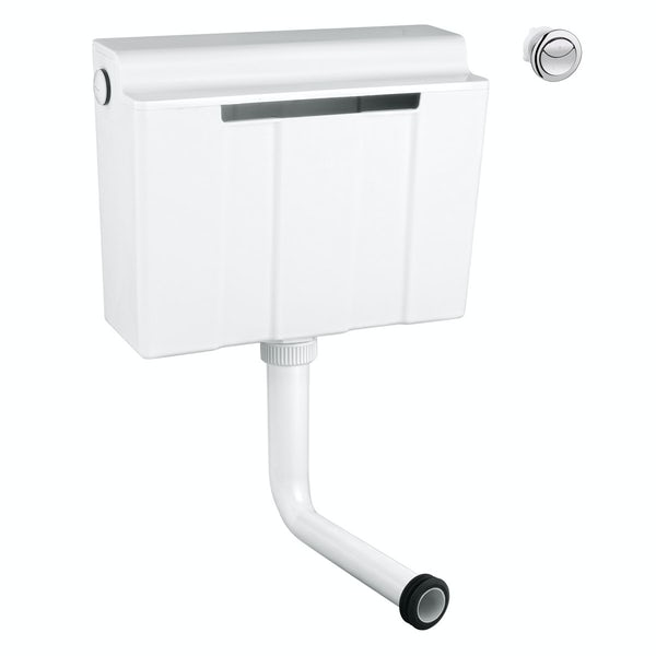 Grohe Adagio concealed flushing cistern 3/6L with round push button