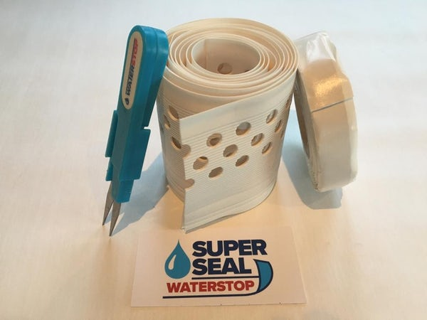 Superseal Waterstop bath and shower tray sealing kit