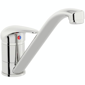Clarity single lever kitchen mixer tap