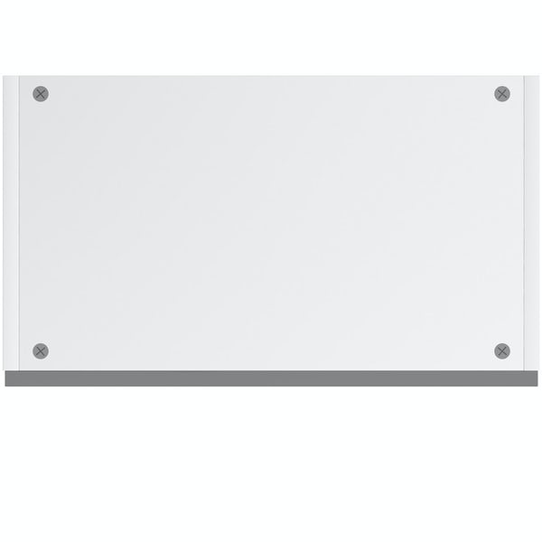 Schon Chicago mid grey handleless wall unit