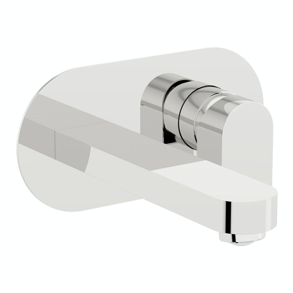 Hardy wall mounted basin and bath mixer tap pack