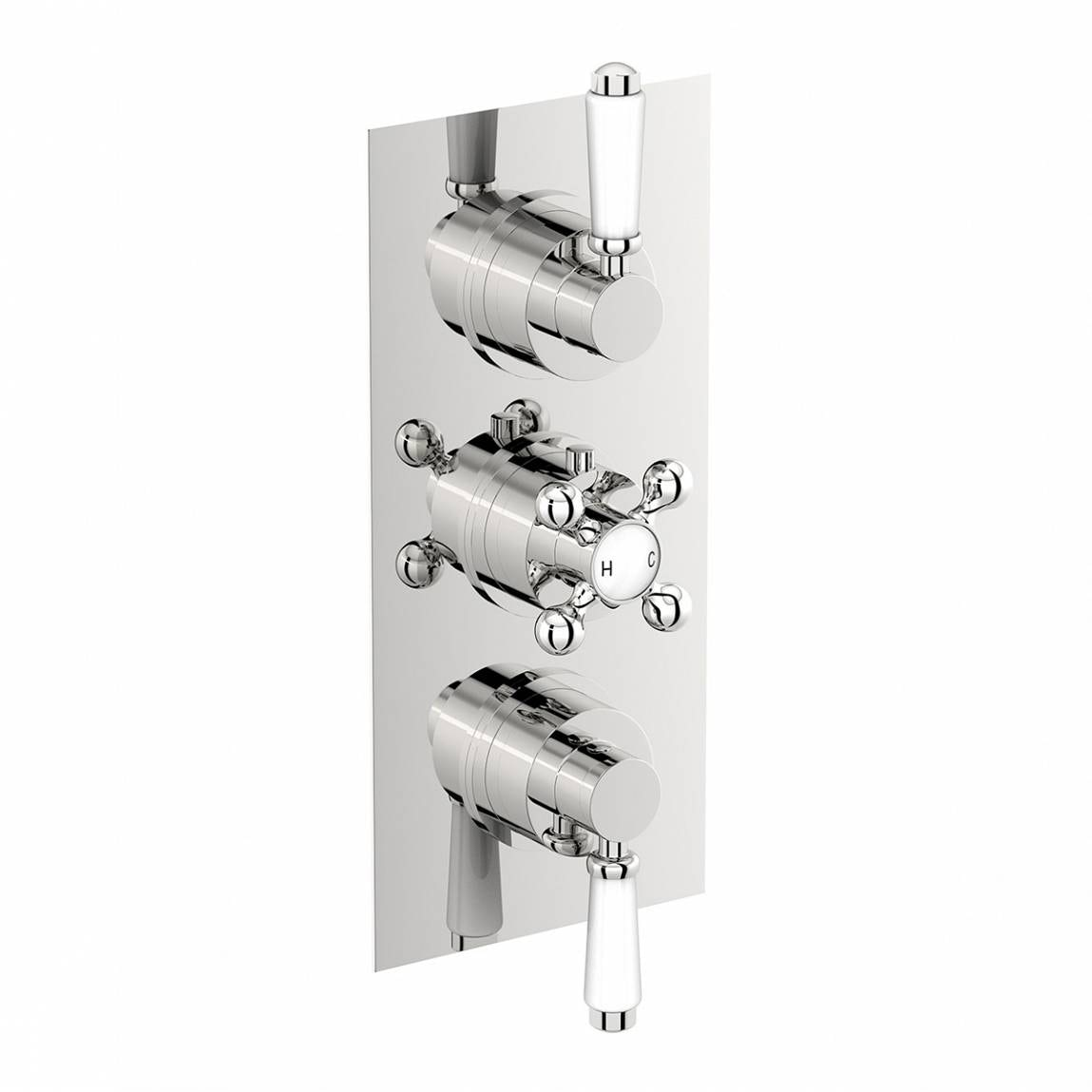 The Bath Co. Winchester triple thermostatic shower valve