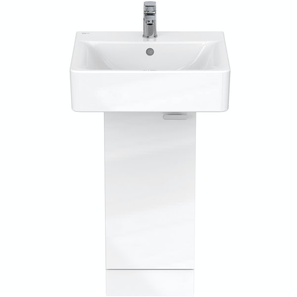 Ideal Standard Concept Space white pedestal unit with basin 300mm