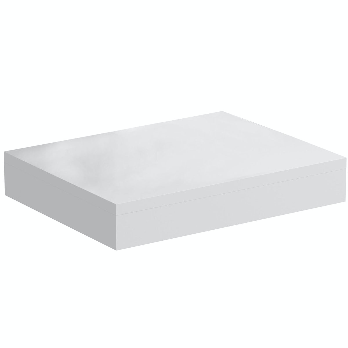 Mode Orion white wall hung countertop basin shelf