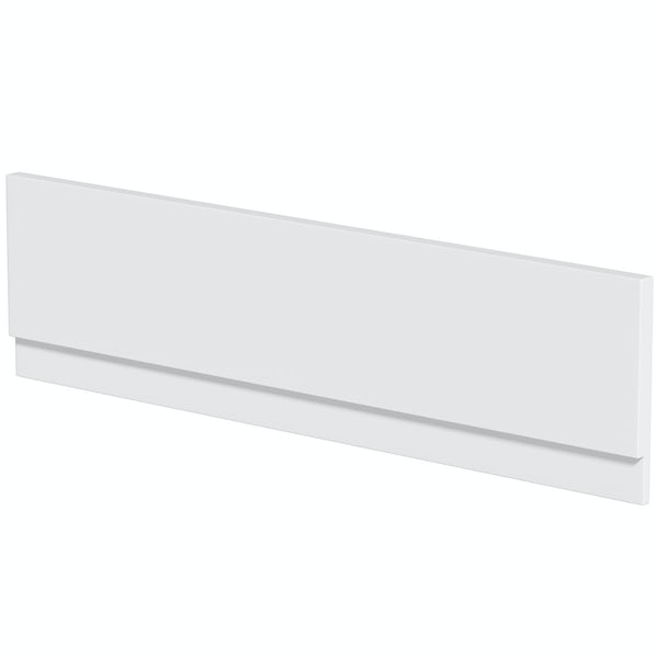 Orchard reinforced acrylic bath front panel