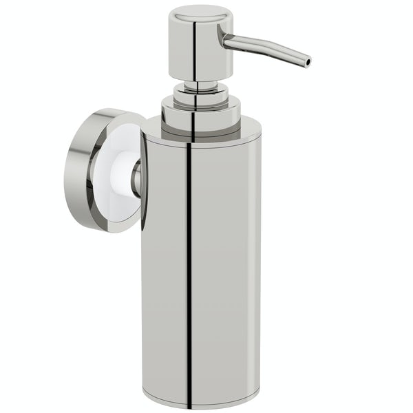 34c8576d2ee3 Orchard Options wall mounted slim stainless steel soap dispenser