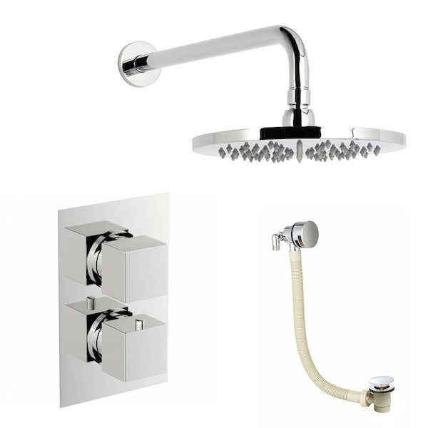 Mode Ellis thermostatic valve shower bath set