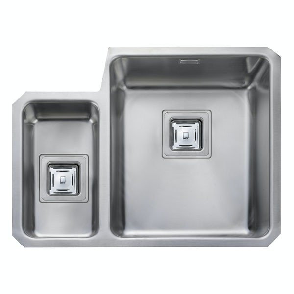 Rangemaster Quad 1.5 bowl undermount left handed kitchen sink