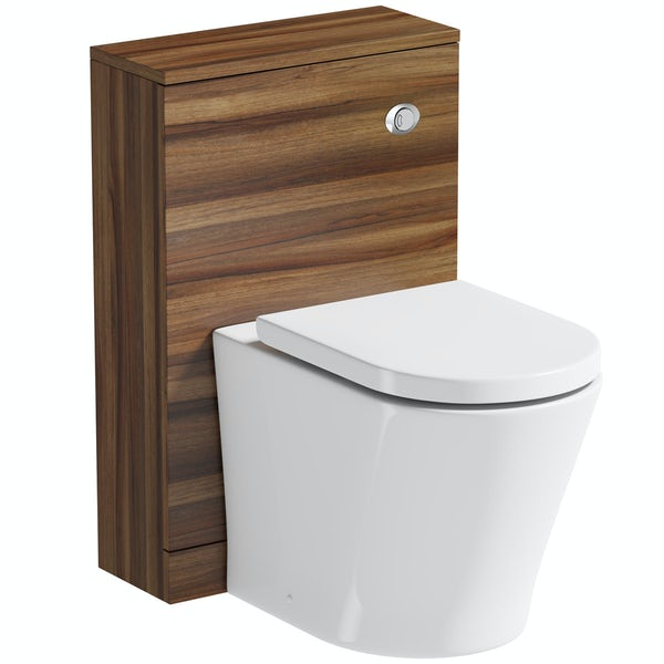 B and q back to wall toilet exhaust hood