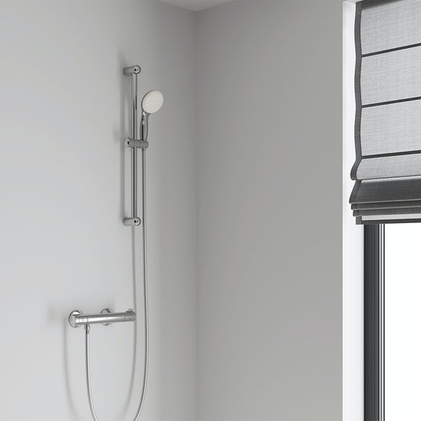 Grohe Grohtherm 800 exposed thermostatic shower set