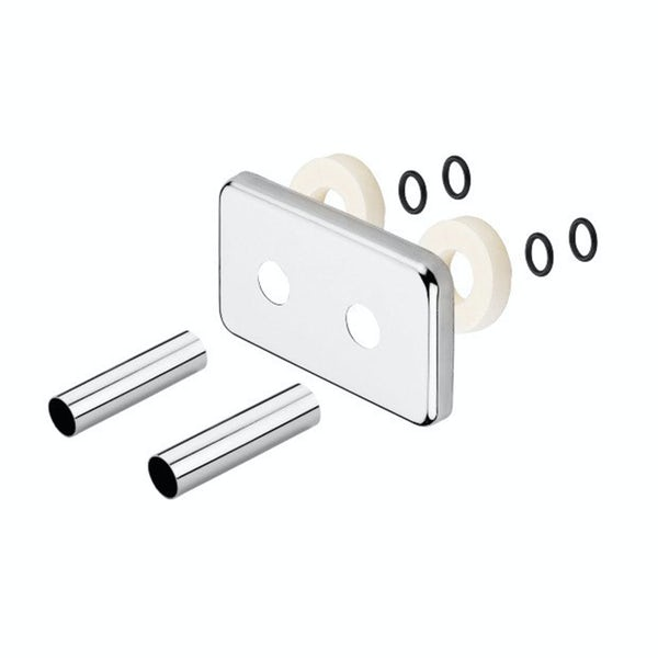 Terma chrome integrated pipe masking set 50mm