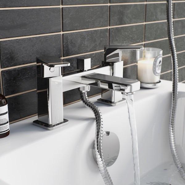 Orchard Quartz bath shower mixer tap