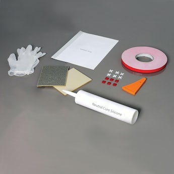 Orchard shower wall panel installation kit