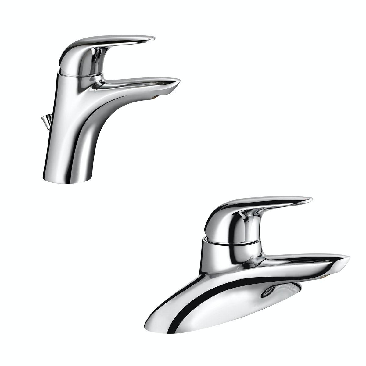 Mira Comfort Basin And Bath Mixer Tap Pack Victoiaplum Com