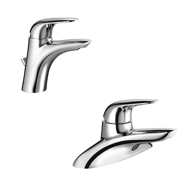 Mira Comfort basin and bath mixer tap pack