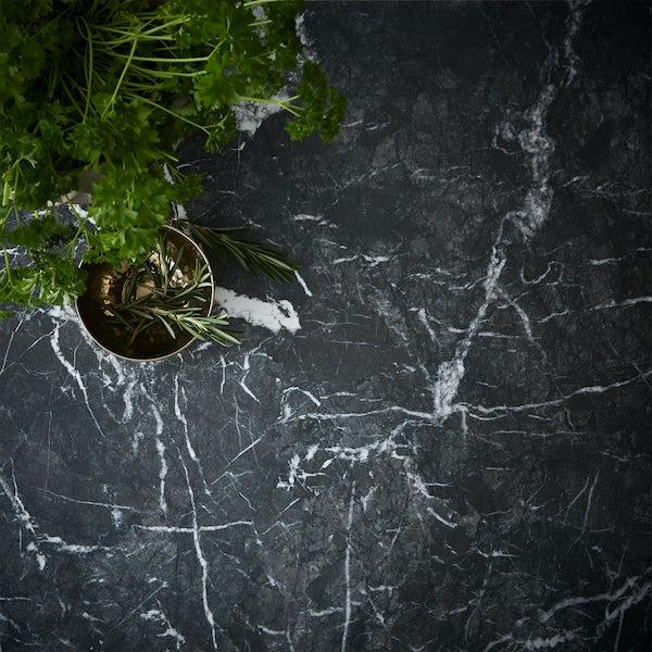 Oasis 38mm dark aurora marble worktop