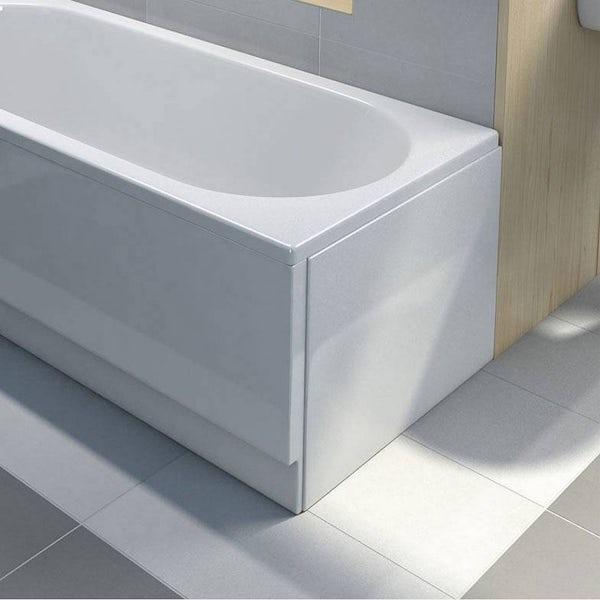 Acrylic Bath End Panel 700