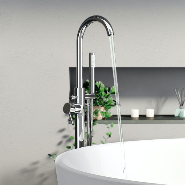 Orchard Eden freestanding bath filler tap