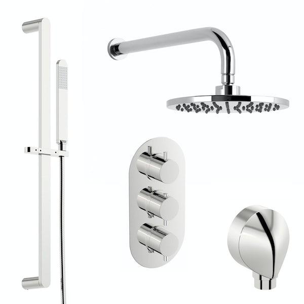 RAK Series 600 and Mode complete left handed shower bath suite
