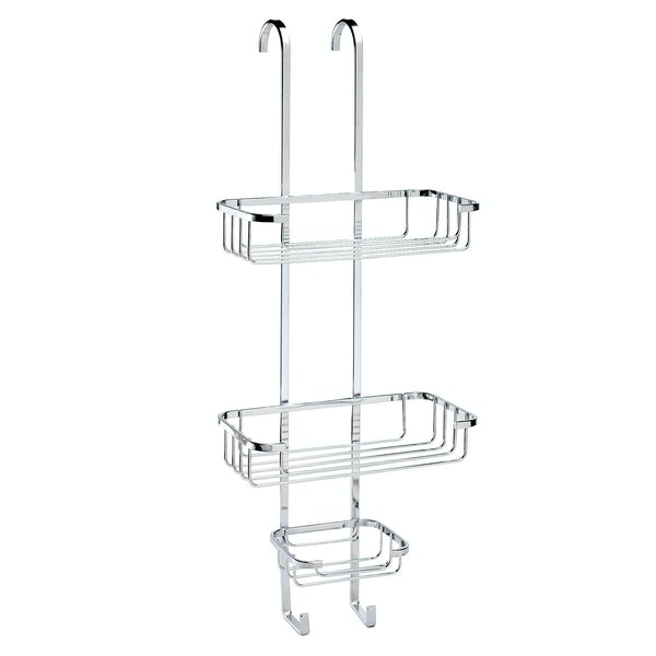 Croydex Rust free hook over three tier basket