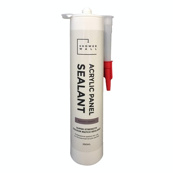 Showerwall acrylic colour matched sealant for Mocha