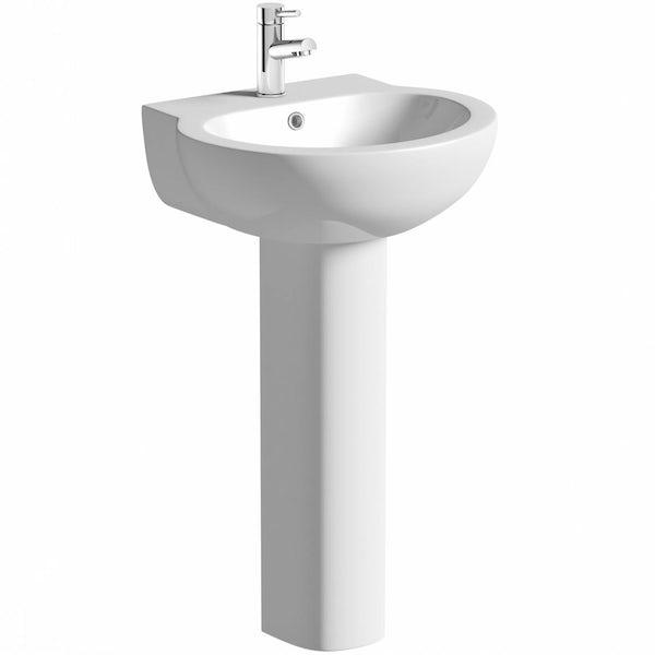 Elsdon Basin & Pedestal