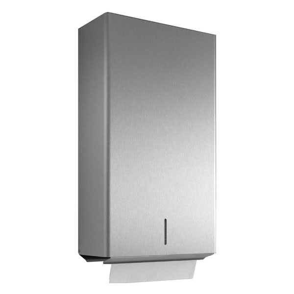 Dolphin commercial stainless steel lockable paper towel dispenser
