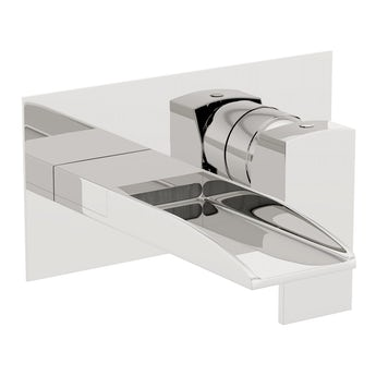 Mode Cooper waterfall wall mounted bath mixer tap
