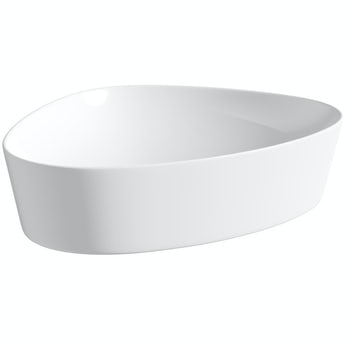 Mode Swan thin edge countertop basin 500mm