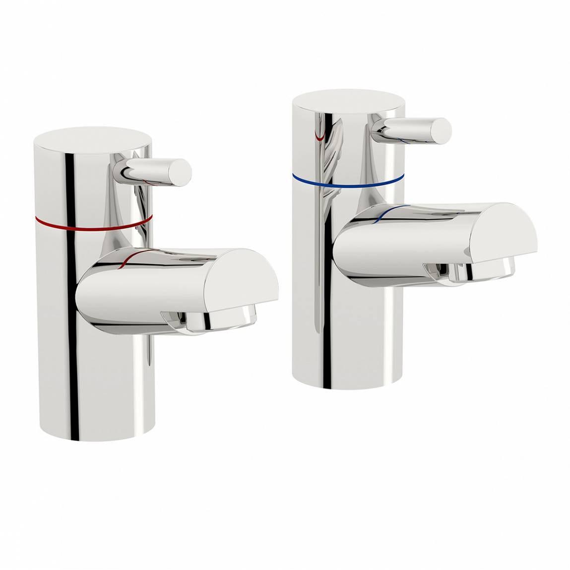 Orchard Wharfe basin pillar taps