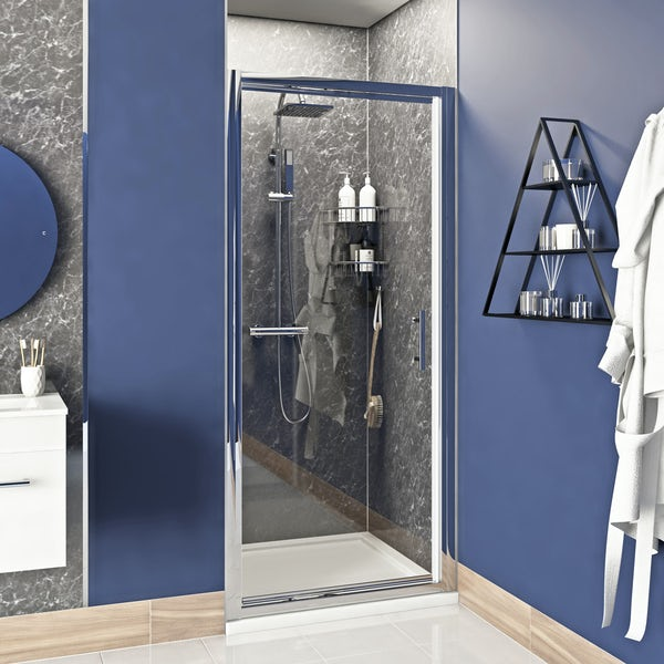 Orchard 6mm infold shower door 760mm
