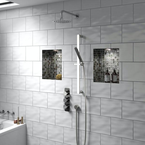 Mode Heath triple thermostatic shower valve