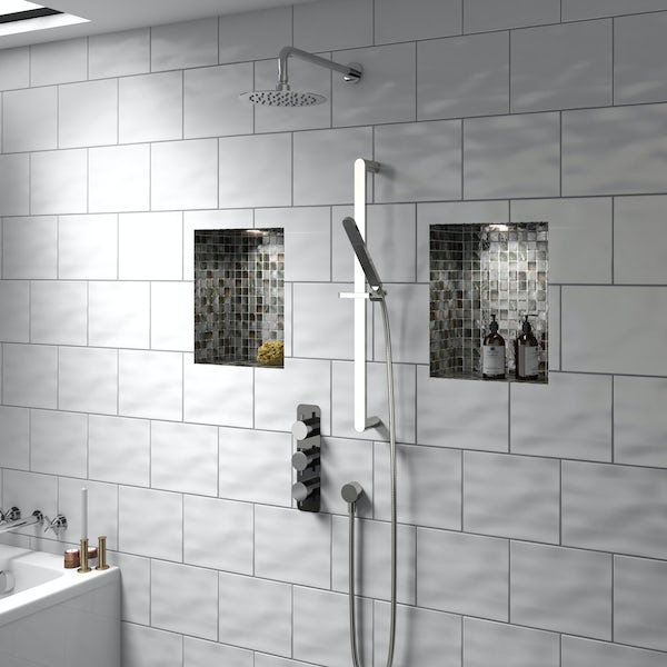 Mode Heath triple thermostatic shower valve