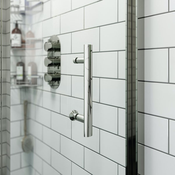 Orchard 6mm bifold square shower enclosure