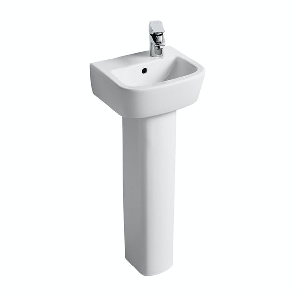 Ideal Standard Tempo 1 tap hole right handed full pedestal basin 350mm