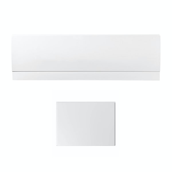 Orchard reinforced acrylic bath panel pack