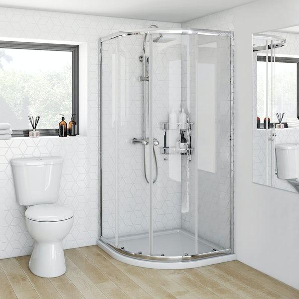 V4 4mm Quadrant Shower Enclosure 800
