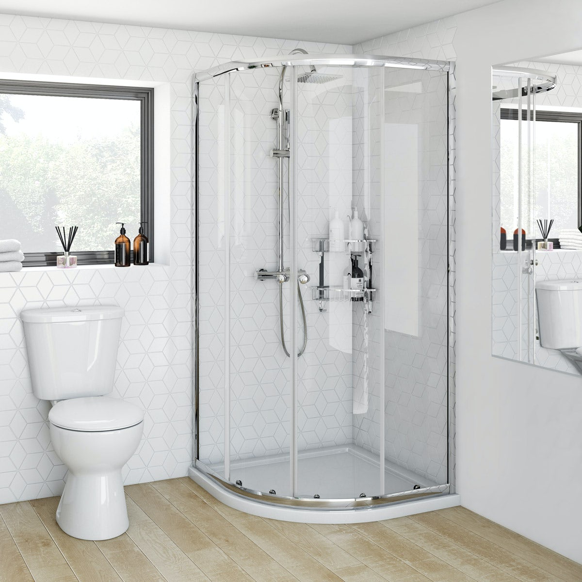 Clarity 4mm Quadrant Shower Enclosure Victoriaplum Com