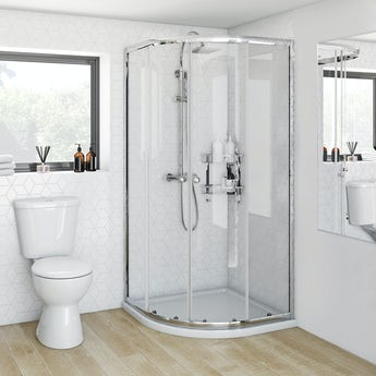 Clarity 4mm quadrant shower enclosure