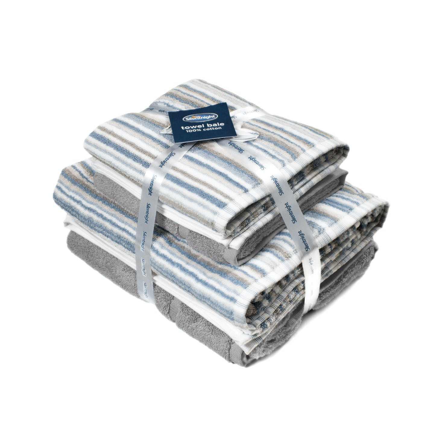 Silentnight Zero Twist 4 Piece Towel Bale