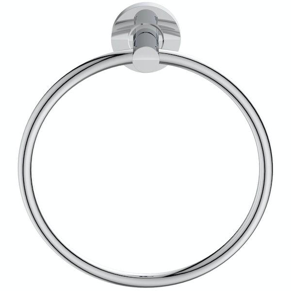 Ideal Standard IOM chrome towel ring