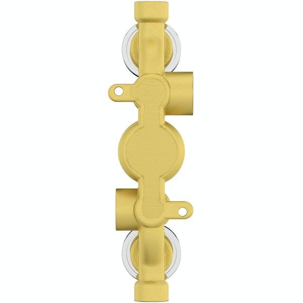 The Bath Co. Dulwich triple thermostatic shower valve