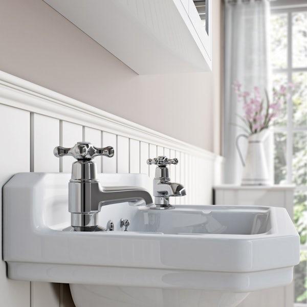 The Bath Co. Camberley basin pillar taps