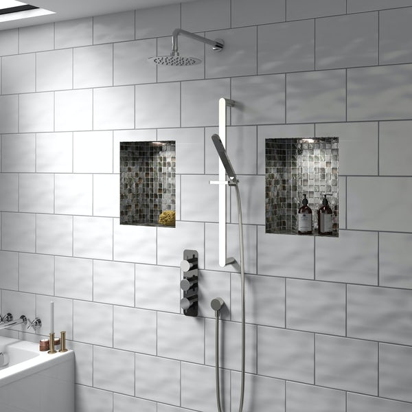 Mode Heath triple thermostatic shower valve with diverter