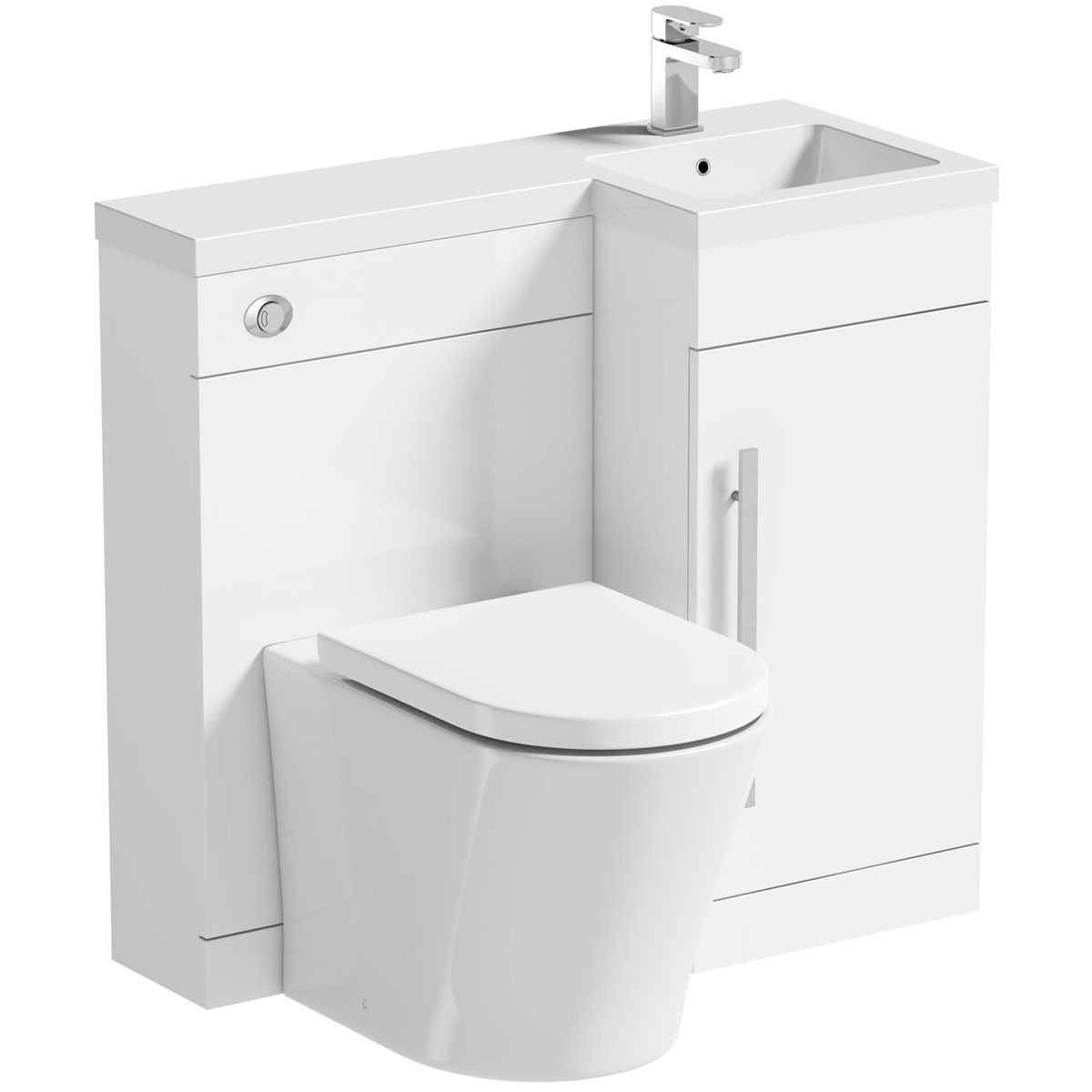 Orchard Myspace White Right Handed Unit With Contemporary