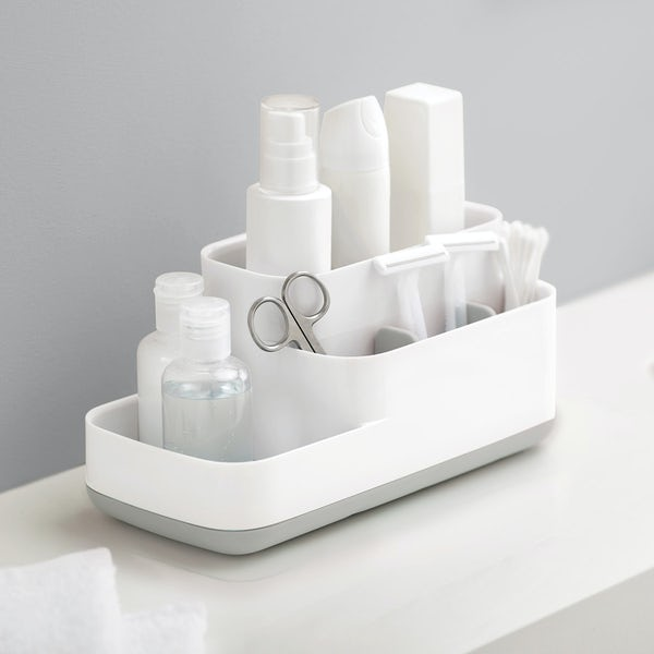 Joseph Joseph Easy store grey bathroom caddy