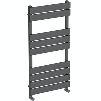 The Heating Co. Wharfe anthracite grey heated towel rail