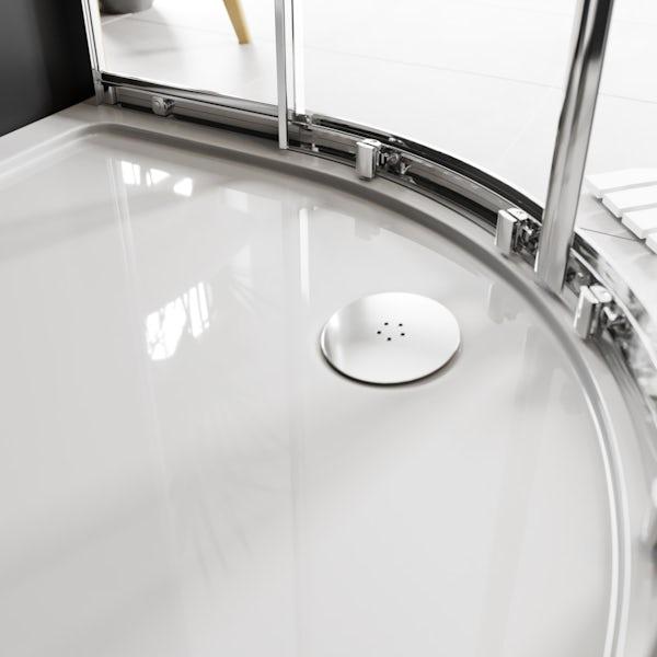 Mode Meier 8mm framed quadrant shower enclosure