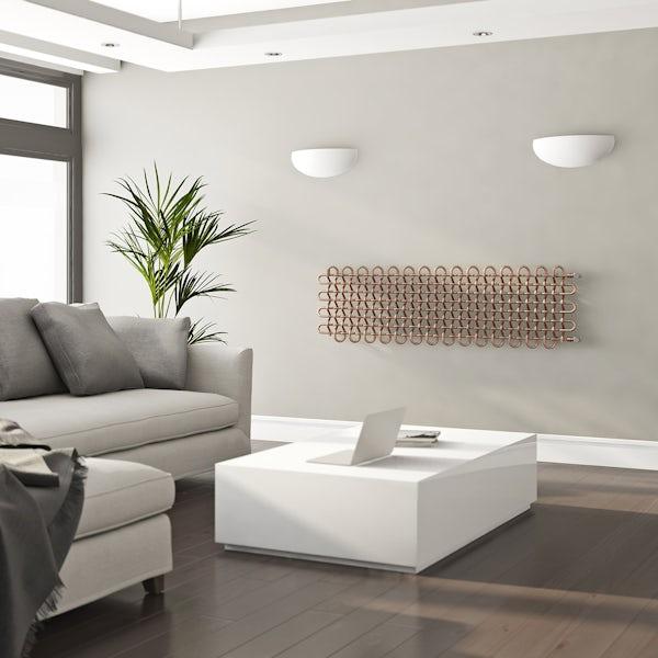 Terma PLC copper horizontal radiator 463 x 1600